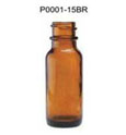 empty amber clear boston round glass bottle 500ml boston round pump bottle