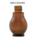 20ml Amber Round Pharmacy Glass Bottle For Packaging