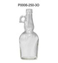 250ml/500ml/750ml/1000ml clear glass olive oil bottle/cooking oil bottle