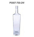 Recycled glass wine bottle 700ML glass bottle for XO vodka